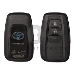 OEM Smart Key for Toyota Prius Buttons:2 / Frequency:434MHz / Transponder: Toyota-H /Texas Crypto/128-bit AES / First Page:A9 / Part No. 89904-47560 / Blade signature:TOY-94 / Immobiliser system:Smart System / Keyless Go