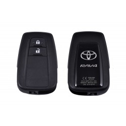 OEM Smart Key for Toyota RAV4 Buttons:2 / Frequency:433 MHz / Transponder:Texas Crypto/128-bit AES / First Page:A8  / Blade signature:TOY-94 / Immobiliser system:Smart Module / Part.No:8990H-42170