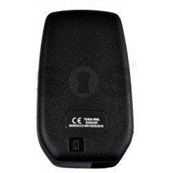 OEM Smart Key for Toyota Yaris 2020 Buttons:2 / Frequency:433 MHz / Transponder: NCF29A1M /HITAG AES / Model:B3H2K2R / Blade Signature:TOY-94 / Immobiliser System:Smart System / Keyless Go