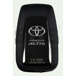 OEM Smart Key for Toyota Corolla Altis Buttons:3+1P / Frequency:434 MHz / Transponder: NCF 29A1M / First Page:AA / Model B2U2K2R / Blade signature:TOY-94 / Immobilser system:Smart System / Keyless Go