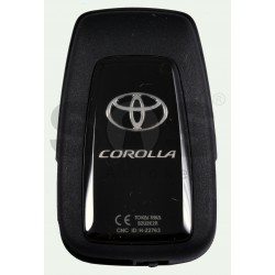 OEM Smart Key for Toyota Corolla Buttons:3 / Frequency:434 MHz / Transponder: NCF 29A1M / HITAG AES / First Page:AA / Model B2U2K2R /Part No : 8990H-02050 / Blade signature:TOY-94 / Immobilser system:Smart System / Keyless Go
