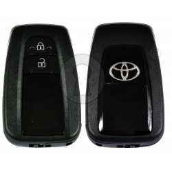 Smart Key for Toyota C-HR Buttons:2 / Frequency:434MHz / Transponder: Tiris DST AES / First Page:A9 / Model:BR2EX / Blade signature:TOY-94 / Immobiliser system:Smart System / Part. No.: 89904-F4010 / Keyless Go