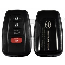 OEM Smart Key for Toyota Highlander 2020+ Buttons:3 / Frequency:434 MHz / Transponder: Tiris RF430 / First Page:8A / Part No : 8990H-0E200 / Keyless Go