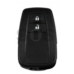 OEM Smart Key for Toyota Corolla Buttons:2 / Frequency:434 MHz / Transponder: NCF 29A1M / HITAG AES / First Page:AA / Model B2U2K2R /Part No : 8990H-02050 / Blade signature:TOY-94 / Immobilser system:Smart System / Keyless Go
