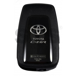OEM Smart Key for Toyota CH-R Buttons:2 / Frequency:315 MHz / Transponder: NCF 29A1M / HITAG AES / First Page:AA / Model BR2EX / / Blade signature:TOY-94 / Immobilser system:Smart System / Keyless Go