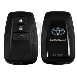 OEM Smart Key for Toyota Corolla 2021+ Buttons:3 / Frequency:434 MHz / Transponder: NCF 29A1M / HITAG AES / First Page:AA / Model B2U2K2R/
