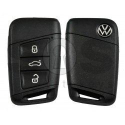 OEM Smart Key for VW 2020+ Buttons:3+1P/ Frequency:315MHz / Transponder:NCP21A2W / Blade signature:HU162T / Part No: 3G0 959 752 BP/ Keyless GO