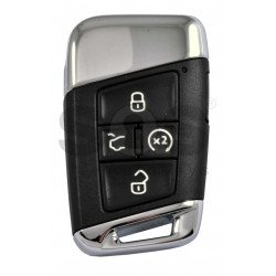 OEM Smart Key for VW 2020+ Buttons:4+1P/ Frequency:315MHz / Transponder:NCP21A2W HITAG PRO / Blade signature:HU162T / Part No: 3G0 959 752 CB/ Keyless GO / Automatic Start
