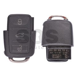 OEM Flip Key for Skoda Buttons:3 / Frequency:434MHz / Transponder:ID48/ID48CAN / Blade signature:HU66 / Immobiliser System: Dashboard / Part No: 1K0959753G (Remote Only)