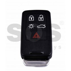 Smart Key for Volvo Buttons:5 / Frequency:434MHz / Transponder: PCF7945/7653 ID46 VIRGIN / Blade signature:HU101 / Immobiliser System:Smart / Part. No: 30659637