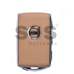 OEM Smart Key for Volvo XC90 Buttons:4 / Frequency:434MHz / Transponder:AES TEXAS CRIPTO-128 VIRGIN / Blade signature:Unknown / Immobiliser System: Smart Module /  (BEIGE) Keyless Go