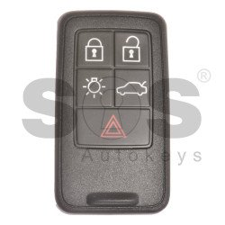 OEM Smart Key for Volvo T Buttons:5 / Frequency:434MHz / Transponder: PCF7953 / 7945/ HITAG2/ ID46 VIRGIN / Blade signature:HU101 / Immobiliser System: Smart / Part No: 5WK49224 / Keyless Go