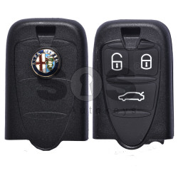 Key Shell (Smart) for Alfa Romeo 159 Buttons:3 / Blade signature: SIP22 / (With Logo) (WITHOUT BATTERY HOLDER)