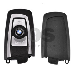 Key Shell (Smart) for BMW F-Series Buttons:3 / Blade signature: HU100R / (With Logo)