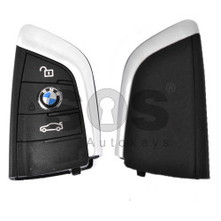 Key Shell (Smart) for BMW F- series / G-series Buttons:3 / Blade signature: HU100R / (With Logo) NEW MODEL