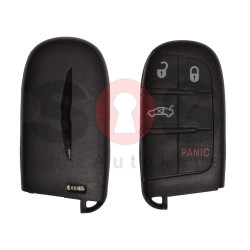 Key Shell (Smart) for Chrysler Buttons:3+1 / Blade signature: SIP22/ CY24