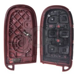 Key Shell (Smart) for Chrysler / Dodge / Jeep / Fiat Buttons:4+1P / Blade signature: SIP22 / CY24 / (Without Logo) / With Blade