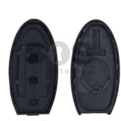 Key Shell (Smart) for Infiniti Buttons:2+1 (Panic) / Blade signature: NSN14 / (With Logo) / (Without slot)