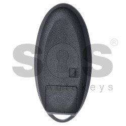 Key Shell (Smart) for Infiniti Buttons:3 / Blade signature: NSN14 / (With Logo) / (Without slot) / With Blade