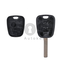 Key Shell (Regular) for Peugeot Buttons:2 / Blade signature: VA2 / (With Logo)