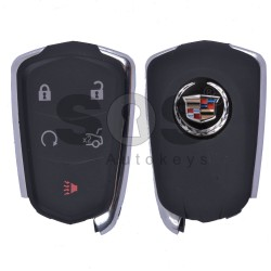 Key Shell (Smart) for Cadillac Buttons:5 / (With Logo) / (NEW SHAPE)
