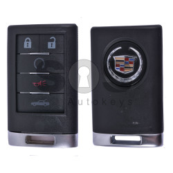 Key Shell (Smart) for Cadillac Buttons:5 / (With Logo)