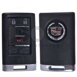 Key Shell (Smart) for Cadillac Buttons:6 / (With Logo)
