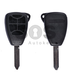 Key Shell (Regular) for Dodge Buttons:5+1 / Blade signature: CY24 / (Empty box)