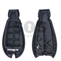 Key Shell (Smart) for Dodge / Jeep (Fish) Buttons:3+1 / Blade signature: CY24