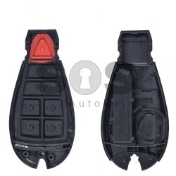 Key Shell (Smart) for Dodge / Jeep (Fish) Buttons:4+1 / Blade signature: CY24