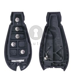 Key Shell (Smart) for Chrysler (Fish) Buttons:4+1 / Blade signature: CY24 / KEYLESS