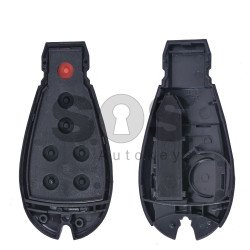 Key Shell (Smart) for Dodge / Jeep (Fish) Buttons:5+1 / Blade signature: CY24