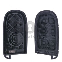 Key Shell (Smart) for Chrysler Buttons:4+1 / Blade signature: SIP22 / CY24 / (With Logo)
