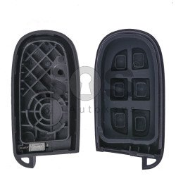 Key Shell (Smart) for Chrysler Buttons:3+1 / Blade signature: SIP22 / CY24 / (With Logo)