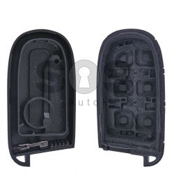 Key Shell (Smart) for Chrysler / Dodge / Jeep / Fiat Buttons:2 / Blade Signature: SIP22 / CY24