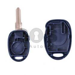 Key Shell (Regular) for Fiat Buttons:1 / (With Logo)