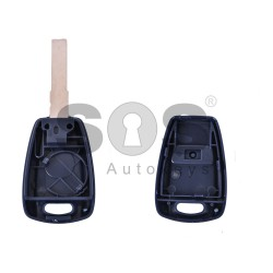 Key Shell (Regular) for Fiat Buttons:1 / Blade signature: SIP22 / (With Logo)