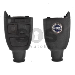Key Shell (Smart) for Fiat Buttons:3 / (With Logo)