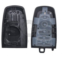 Key Shell (Smart) for Ford Buttons:4 / Blade signature: HU101/ FOR-51 / (Without Logo) / (With Battery Plate)
