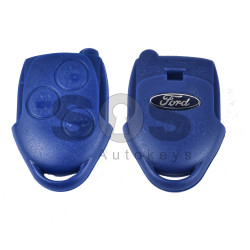 Key Shell (Regular) for Ford Buttons:3 / Blade signature: FO21 / (Back Part/Blue Head) / (With Logo)