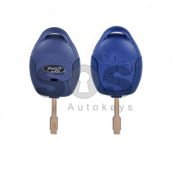Key Shell (Regular) for Ford Buttons:3 / Blade signature: FO21 / (Blue Head) / (With Logo)