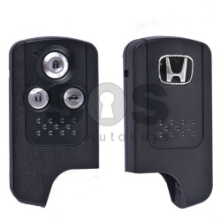 Key Shell (Smart) for Honda Buttons:3 / Blade signature: HON66 / (OLD Vision) / (With Logo)