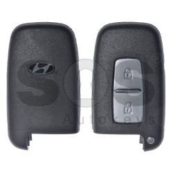 Key Shell (Smart) for Hyundai Buttons:2 / Blade signature: HY22 / (With Logo) / (With Battery Plate)