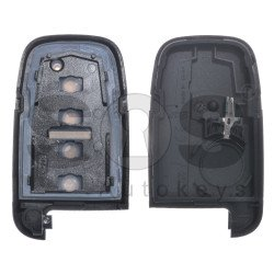 Key Shell (Smart) for Hyundai Buttons:4 / Blade signature: HY22 / (With Logo) / (With Blade)