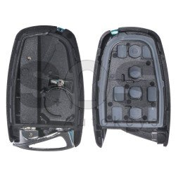 Key Shell (Smart) for Hyundai Buttons:3+1P / Blade signature: HY22 / (With Logo) / With Blade
