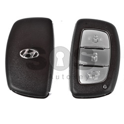 Key Shell (Smart) for Hyundai Buttons:3 / Blade signature: HY22 / (With Logo)