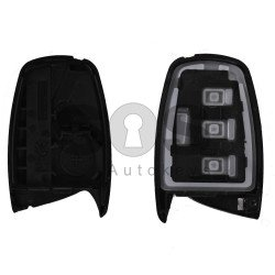 Key Shell (Smart) for Hyundai Buttons:3 / Blade signature: HY22 / (With Logo) / With Blade