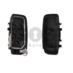 Key Shell (Smart) for Jaguar Buttons:5 / Blade signature: HU101 / (With Logo) / (New)