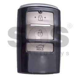 Key Shell (Smart) for Kia Buttons:3 / Blade signature: HY22 / (Without Logo)
