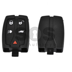 Key Shell (Smart) for Land Rover Buttons:5 / Blade signature: HU101 / (With Slot)